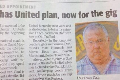 Van Gaal Harold Bishop